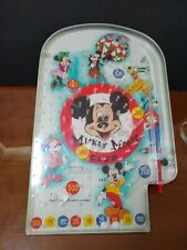 New listing Vintage Mickey Mouse Club Marble Pinball Game Wolverine Toy Walt Disney