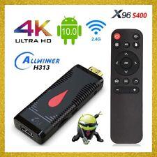 X96 S400 Mini Stick ANDROID 10.0 Smart TV BOX 2GB 16GB HDMI Dongle WiFi 4K