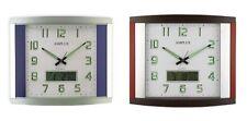 Amplus Digital / Analogue Sweep Movement Wall Clock PW041