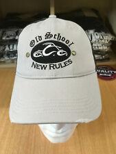 Genuine Official Light Grey/Black Mesh Orange County Choppers Baseball Cap New