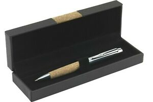 Drehkugelschreiber im Etui Geschenk Präsent inkl. Ihrer Wunschgravur Faserlaser