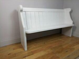 Church Pew / Bench - 4/5/6 ft - Any Farrow & Ball Colour - Grey, Crm