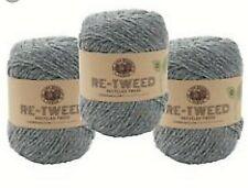 Lion 3 Pack Yarn Re-Tweed Arctic Ice Recycled Tweed Wool Polyester Blend Medium