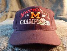 Michigan Wolverines 1997 National Chanps Adjustable Hat