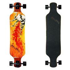 Atom Longboard Skateboard Professionale Drop Deck Longboard 39 Inch Octopus
