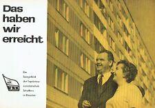 Das haben wir erreicht Ergebnisse des sozialistischen Schaffens in Dresden 1967
