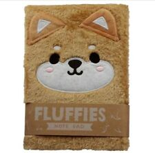 Cutiemals Plush Shiba Inu Dog Fluffies Notepad/NoteUK Seller 100% Trusted Seller