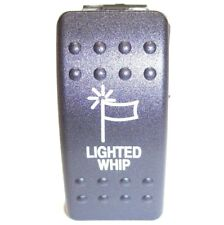 LIGHTED WHIP SWITCH FOR HONDA PIONEER 1000 OR 700 WITH ACCESSORY SWITCH PLATE-5A
