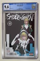 Spider-Gwen 0 CGC 9.6 Reprints 1st Appearance From Edge Of Spiderverse 2 Marvel