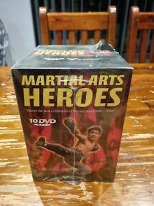 Martial Arts Heroes Dvd Box Set