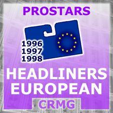 CRMG Corinthian ProStars FRANCE GERMANY HOLLAND HEADLINERS (choose from list)