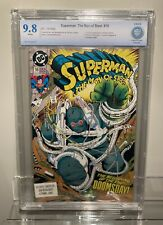 DC Comics Superman: The Man of Steel #18 Doomsday First Appearance CGC CBCS 9.8