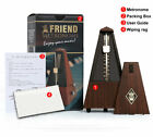 Antique Vintage Wood Mechanical Metronome Tempo Music Timer Classical Wooden