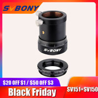SVBONY SV150 M31*0.5 Female Thread to M42*0.75 T2 Male Thread Adapter for 1.25inch Double Helical Focuser