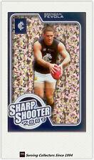 2010 AFL Herald Sun Cards Sharp Shooters Subset SS3 Brendan Fevola (Carlton)