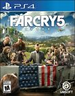 Far Cry 5 Playstation 4 PS4 PS5 Ubisoft Survival Hunting Fighting - Brand New!