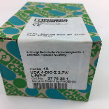 PHOEXIX CONTACT 2775281 27 75 28 1 UDK 4-DIO-Z 2,7V/L-R/P-P DIODE Box of 15