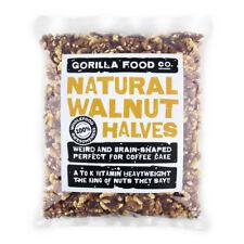 Gorilla Food Co. Natural Walnut Halves - 400g (Great value £ per 1kg)