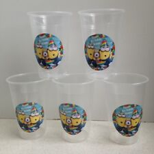 18 x Personalised Minions Birthday Party Cup Decorations