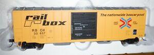 "Atlas HO scale - 50'6"" Box Car  -  Rail Box #33657  -  924"