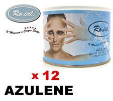 12 Bocaux vaso cire AZULÈNE ROIAL épilation à la cire dépilatoire action calmant