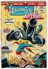 ADVENTURE COMICS #420 (VF) SUPERGIRL! 52 Pages! DC Bronze-Age Classic 1972