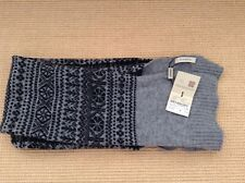 Burberry Prorsum fair isle scarf, made in Italy, new with tags, free uk p&p