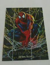 Spiderman 1992  masterpiece  promo card