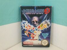 MEGA MAN 3 OVP+Anleitung+Hülle+Styropor NES Nintendo Cib Pal deutsch Men Box