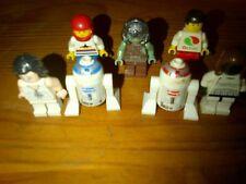 LOT DE 7 PERSONNAGES LEGO DONT  STAR WARS IDEE CADEAU aniversaire fete pere mère