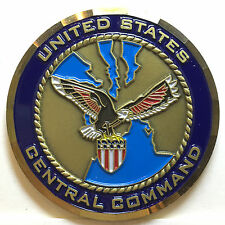 US Central Command presented by GEN.Tommy R.Franks COM in Chief Challenge Coin