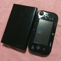 Nintendo Wii U Console pad Black WUP-101(01) 32GB Working Japanese Version
