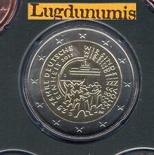 Allemagne 2015 2 Euro D Munich Réunification FDC du coffret BU 33000 exemplaires