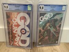 Image Comics God Country #2 1st & HTF 3rd Print Variant Cover Cates CGC 9.8 1 /4