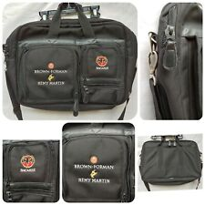 Brown-Foreman Embroidered Bacardi Remy Martin Canvas Computer Briefcase Bag