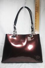 Beijo Plum Large Hand Bag