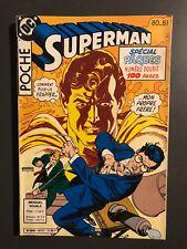 SUPERMAN POCHE (Sagedition) - T80-81 : avril 1984