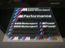 BMW M MPOWER STICKER BADGE DECAL WHEEL SET M3 M4 E21 E30 E36 E46 E90 X3 X1 Z3 Z4