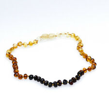 Baby Js Ombre Amber Necklace. Genuine UK Registered Business. Free UK Delivery