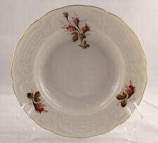 "HTF Rosenthal MOSS ROSE SANSSOUCI IVORY Rimmed Soup Bowl(s) 8 3/4"" x 1 5/8"" NEW"