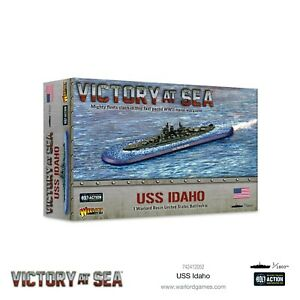 VICTORY AT SEA - USS IDAHO - WARLORD GAMES - WWII