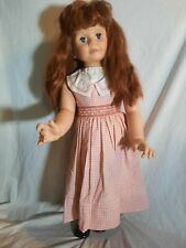 """Vtg 36"""" Redhead Patti Play Pal Ashton Drake Extra Outfit and Stand"""