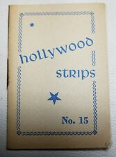 Hollywood Strips Booklet No. 15 Netherlands Maple Leaf Bubble Gum Premium