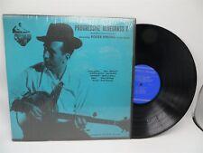 Progressive Bluegrass 1 - Roger Sprung, Folkway FA 2370 Orig Shrink LP Record NM