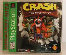 First Crash Bandicoot 1 One PS1 Playstation Game 1996 Cortex Naughty Dog Sony TV