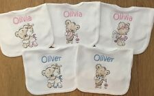 Personalised Baby Bibs, Bib, Embroidered, Toddler, ANY NAME, Gift, Baby Shower,