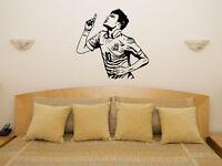 Neymar Da Silva Barcelona Brazil Football Player Decal Wall Art Sticker Picture