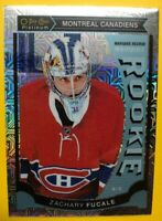 2015-16 OPC Platinum Traxx Marquee Rookie #M37 Zachary Fucale Montreal Canadiens