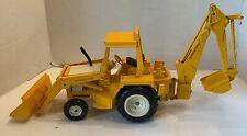 Vintage Ertl International Harvester Back Hoe Tractor 1970's