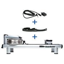 WaterRower Rudergerät M1 HiRise , inkl. S4 Monitor, Herzfrequenzempfänger und Br